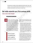 Artikel De holle retoriek