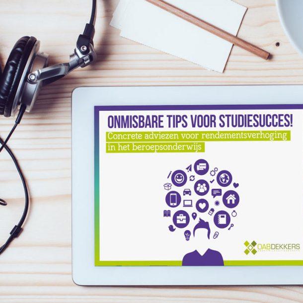 e-book onmisbare tips voor studiesucces