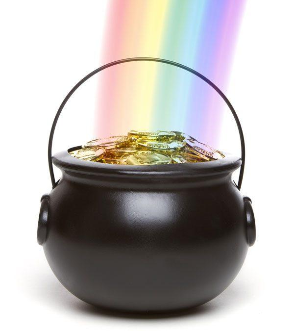 Een pot met goud!