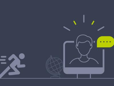 Online leren: Een sprint en een marathon!