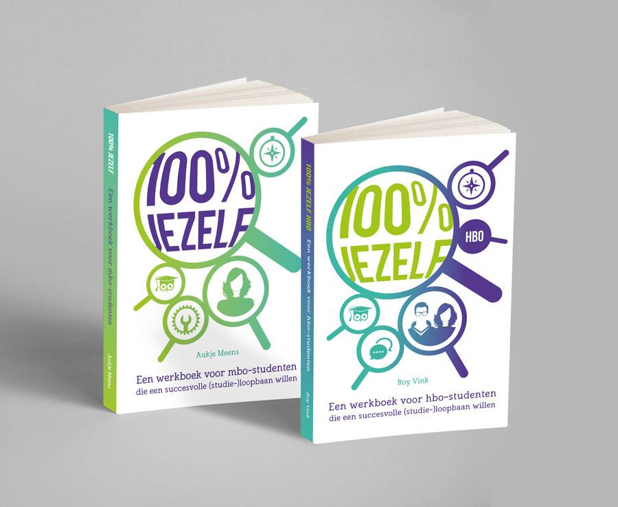 Boeken 100 procent jezelf voor mbo en hbo
